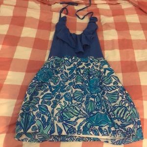 Lilly Pulitzer Halter style dress